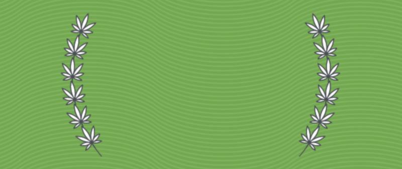 cannabis award background